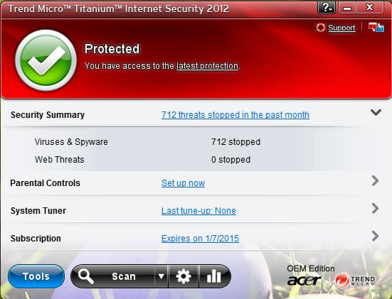 TREND MICRO™ TITANIUM™ INTERNET SECURITY 2012 AND 2014 | My