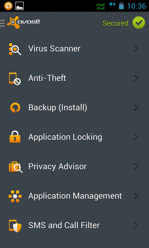 Avast! for Smartphone